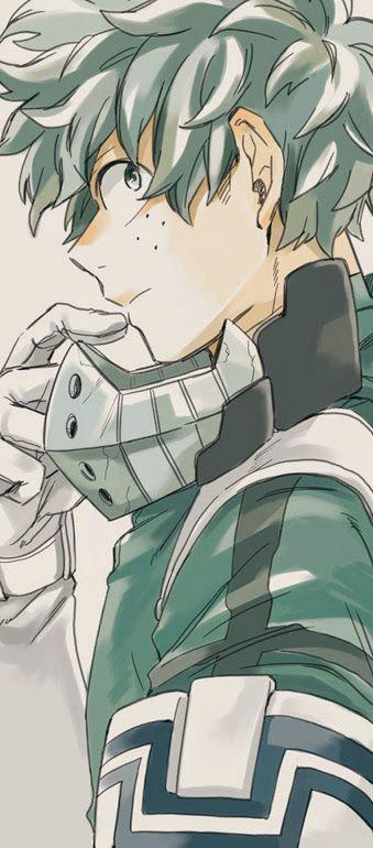 Izuku Midoriya – My Hero Academia #fanart #manga #anime #animeboy #GG