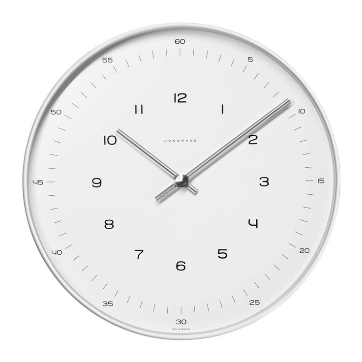 haus london Max Bill Wall Clock by Junghans