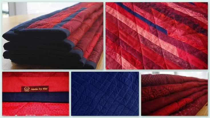 Hobby Stübchens Sofa-Quilt (Etiketten von DORTEX)