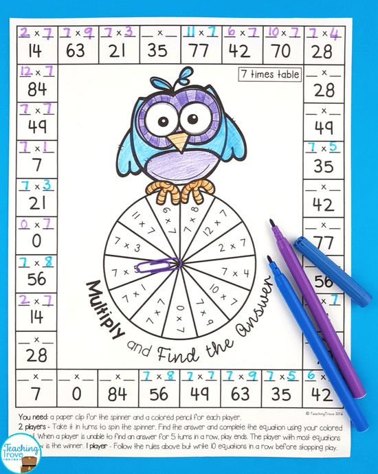 272 best Multiplication & Division images on Pinterest | Math facts ...