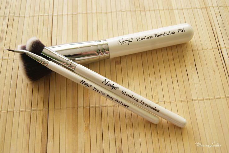 http://www.swiat-recenzji.pl/2016/07/nanshy-pedzle-flawless-foundation-f01.html #nanshy #brushes #makeup
