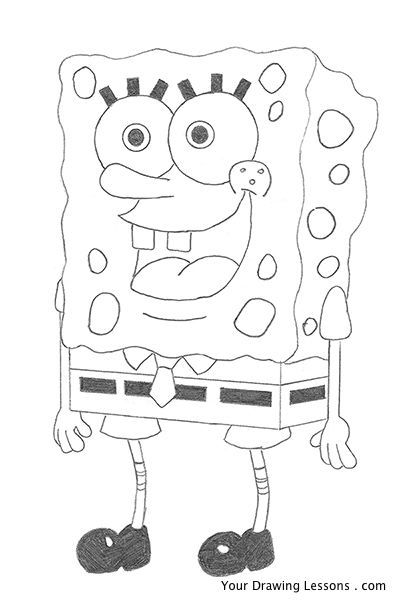 How To Draw Pearl From Spongebob 80651 | ENEWS