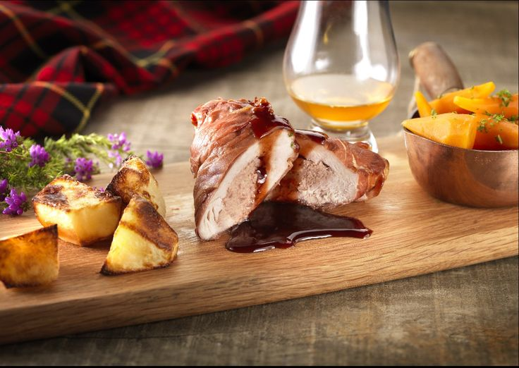 This is a stunning recipe, perfect for a Sunday afternoon with family and friends. The Castle MacLellan Smoked Duck Pâté compliments the Pheasant beautifully.