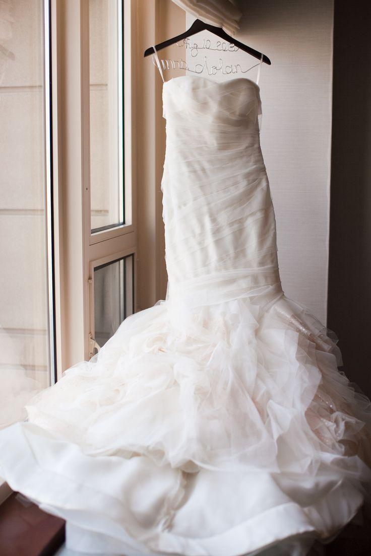 Spectacular  Vera Kulikova Wang ruffles for days French Market Wedding at Galleria Marchetti by Ashley