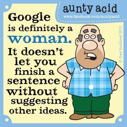 Google jest kobietą!