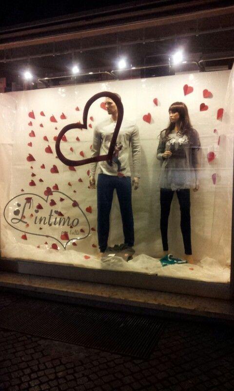Le mie vetrine per S Valentino