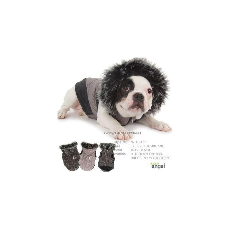 CHAQUETA BOOM BOX, de la firma puppy angel. cálida y confortable, ideal para días fríos o lluviosos. Se puede cerrar con cremallera por la parte delantera.  Exterior- Nylon 100% , Interior- Polyester 100% http://bit.ly/1LByHGL