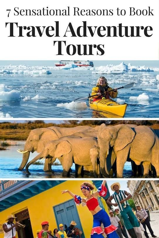 A travel adventure tour offers the opportunity to visit exotic places and experience exciting pursuits under the guidance of persons familiar with the place.