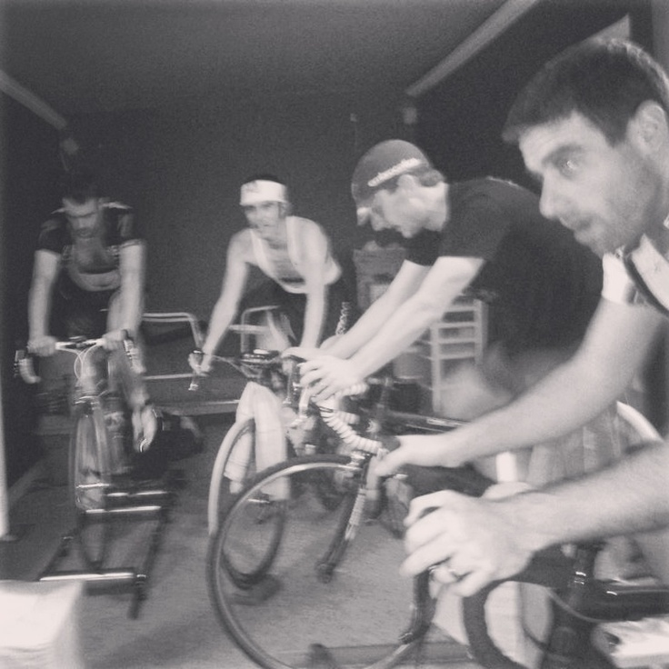 Winter training! Dr Cheung, Schuman, Dakin......RealDeal Racings Moote to the far left.