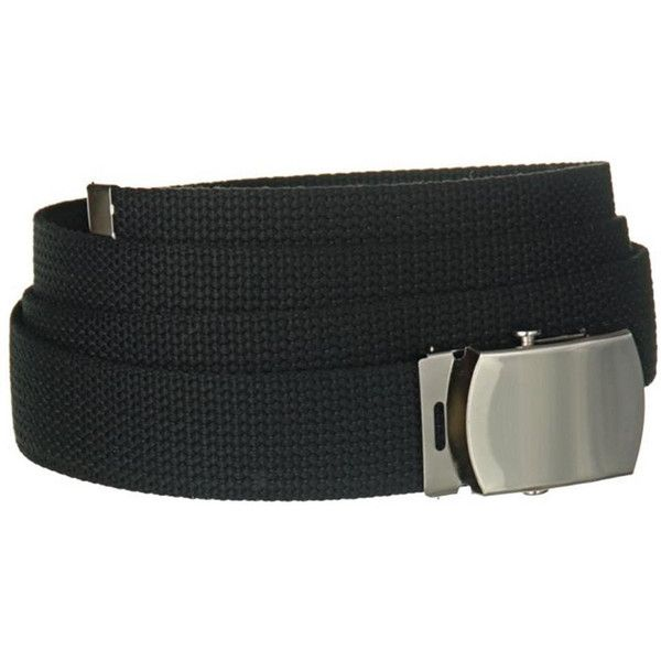 Men's Mens Military Canvas Belt ($6.99) ❤ liked on Polyvore featuring men's fashion, men's accessories, men's belts, belts & suspenders, black and mens belts