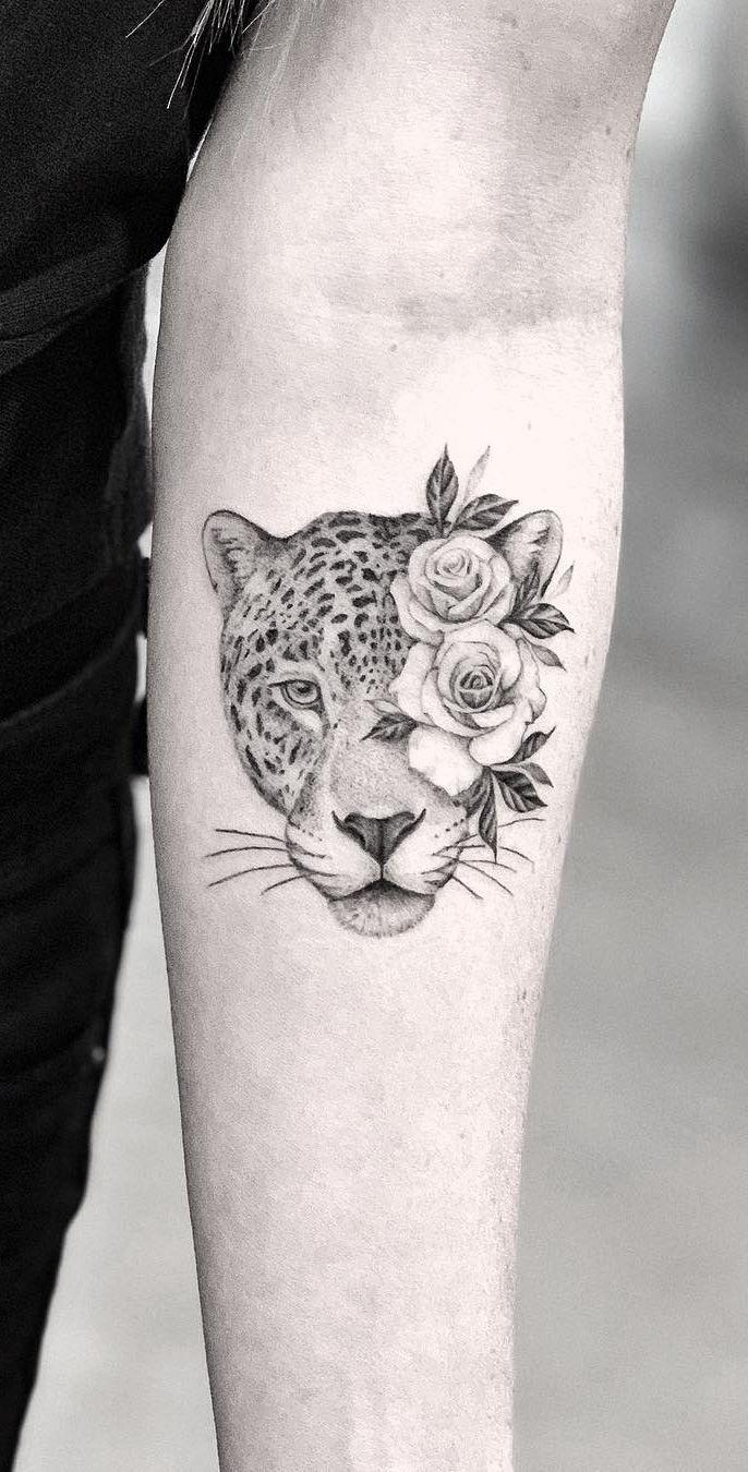 Voer Uw Inkt Verslaving Met 50 Van De Mooiste Rose Tattoo Designs Voor Mannen En Vrouwen In 2020 Sleeve Tattoos For Women Tattoos Leopard Tattoos
