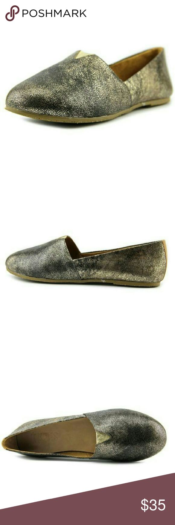 Women round toe leather loafer Brand / Style : Tkees Senny  Color : Golden Web  Material : leather  Width : medium  MADE IN BRAZIL.. Shoes Flats & Loafers