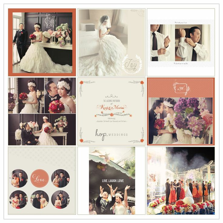 Kent & Marisa Wedding Photobook Preview, edit & design by Wenny Lee, photo by HOP