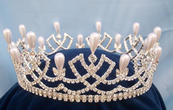 Rhinestone full Romanov Palace Crown