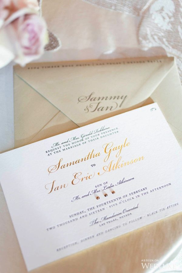 vegas wedding invitation%0A WedLuxe  u     Cherry Blossoms Transform this Vegas Wedding into a Floral  Fantasy   Photography By