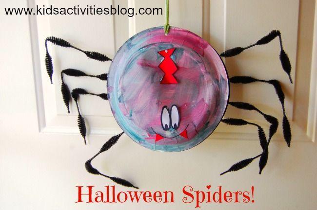 Halloween Craft- fun spider craft