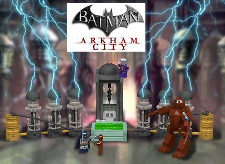 """Get out of the my way batsy!, I've got a date with immortally""-Joker   Please help support my lego ideas project(Batman Arkham City:Joker's Lazarus Pit showdown)"