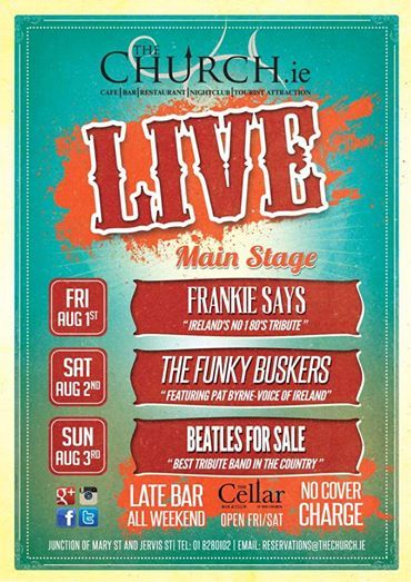 #live #music #band #august #bankholiday #amazing