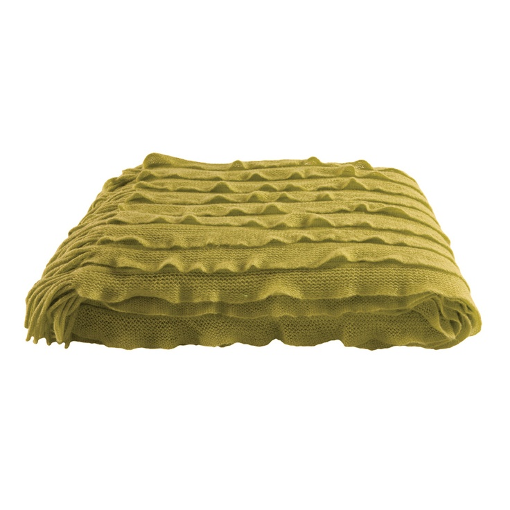 Dare Gallery - Ripple Throw Chartreuse
