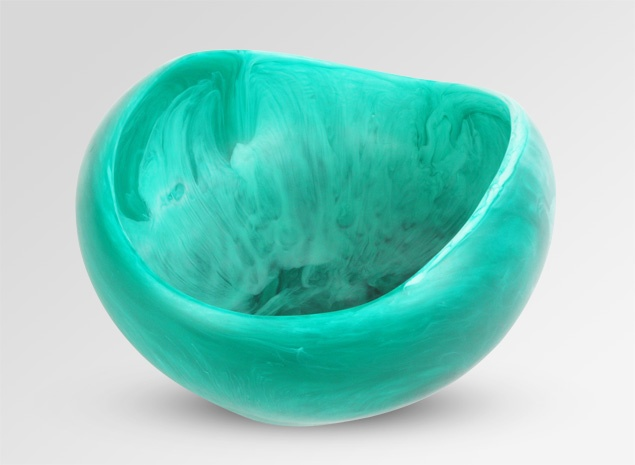 Dinosaur Designs 2013 Emerald Swirl - Green Swirl lj