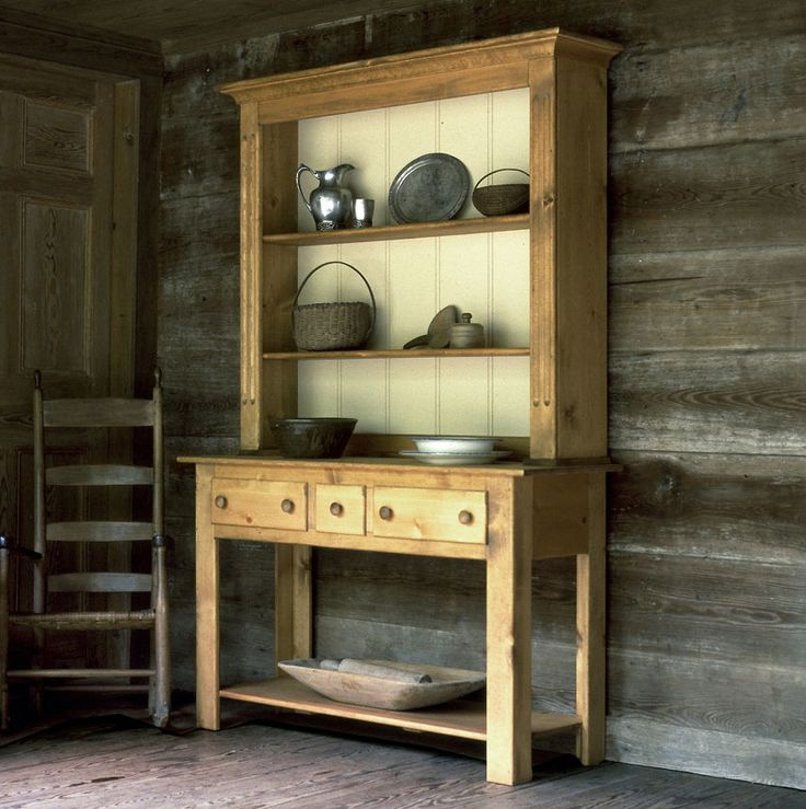 The Welsh Hutch Offers Layers Of Open Storage In 20 Colors. Solid Pine And  Made