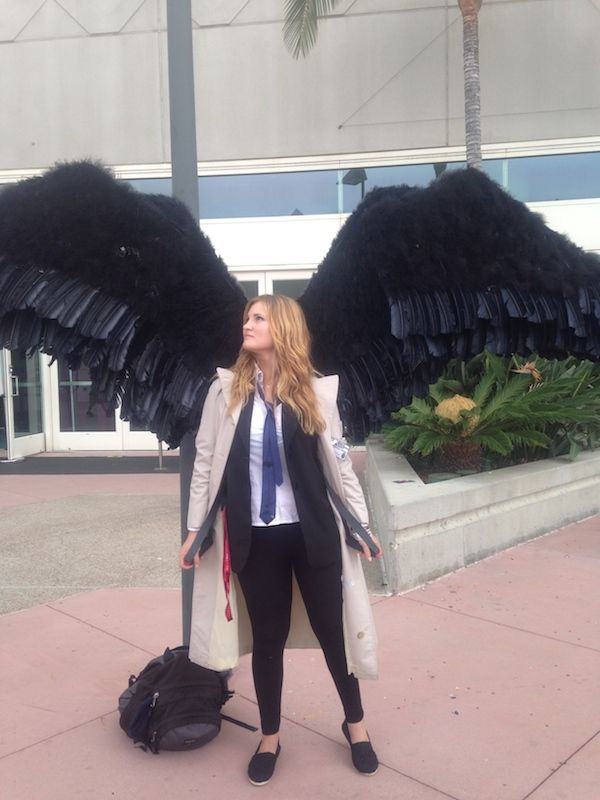 Gorgeous Supernatural Femme Castiel Cosplay