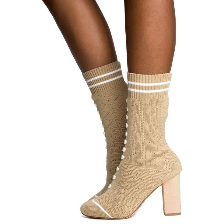 Cape Robbin Perry-1 Nude Women's Boot