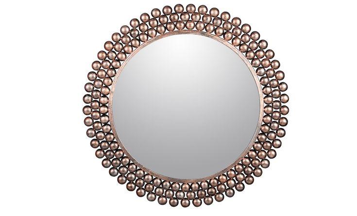 Precioso espejo de medida de diametro 75 cm. Descubre este y otros modelos en nuestra tienda de Madrid #espejo