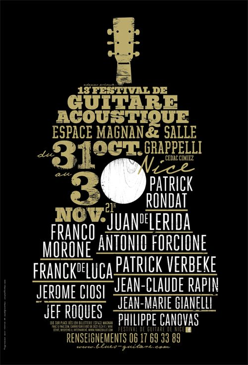 Festival de guitare acoustique à Nice