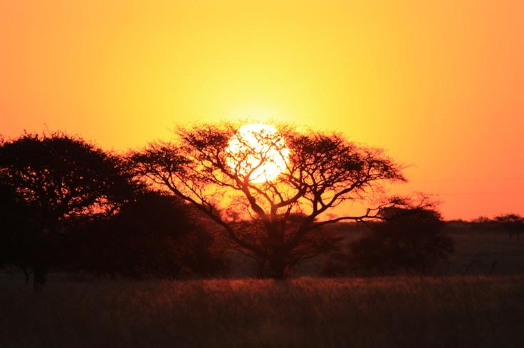 Beautiful sunset in Kimberley