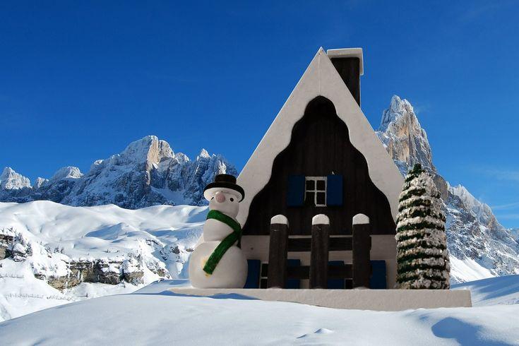 Christmas in the Italian Dolomites