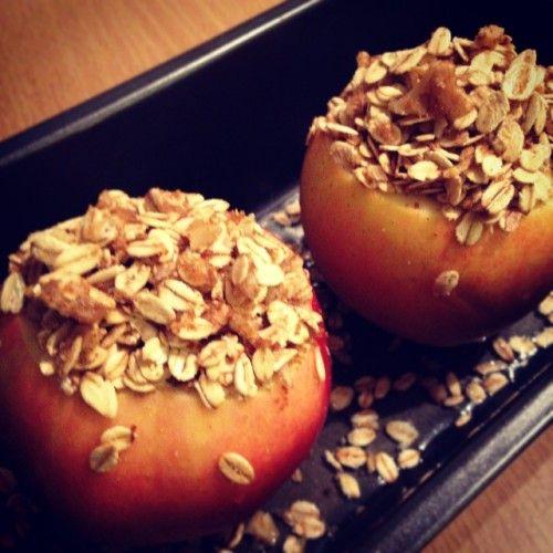 Oatmeal Stuffed Apple Delight ~ Swap your Breakfast Oatmeal or your ...