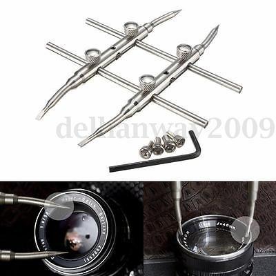 Spanner-Camera-Lens-Repair-Kits-Stainless-Steel-Open-Tools-for-DSLR-New