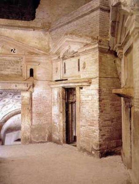 Catacombe di San Sebastiano, Roma (basilica di San Sebastiano fuori le mura).  III-IV secolo