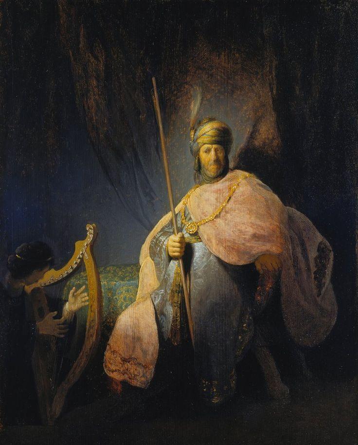 David Plays the Harp Before Saul // c. 1630 - 1631 // Rembrandt Harmensz. van Rijn // © Städel Museum