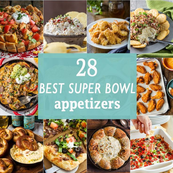 APPETIZERS * RECIPES