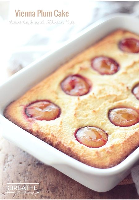 Vienna Plum Cake – Low Carb and Gluten Free