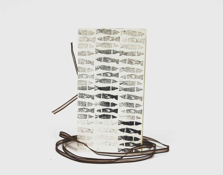 #Handmade #Stamp #Fish #IDP #Visual #Book #BenedettaSimone