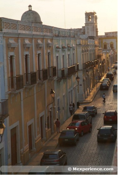Downtown, Campeche