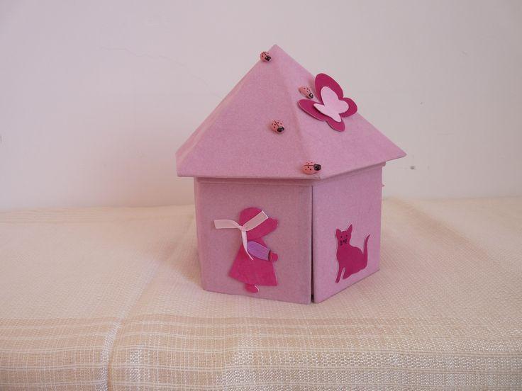 Mini Boite à chocolat ou à bonbons à offrir pour une naissance, un baptême : Boîtes, coffrets par atelier-joy