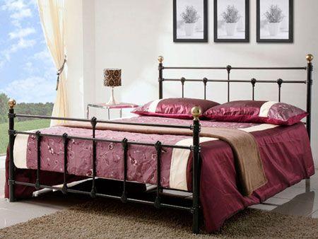 Birlea Atlas Black Double Bed - image