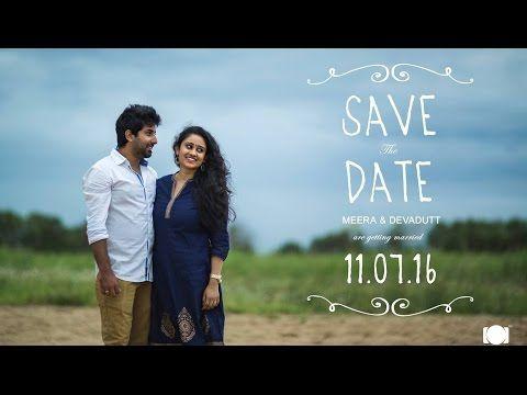 Best Kerala Save the date Pre Wedding Video / Meera - Devadutt - YouTube