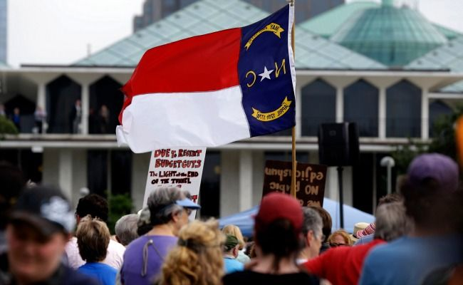 National press: The Atlantic compares policies from the North Carolina legislature to the 2011 Tea Party takeover in Wisconsin.