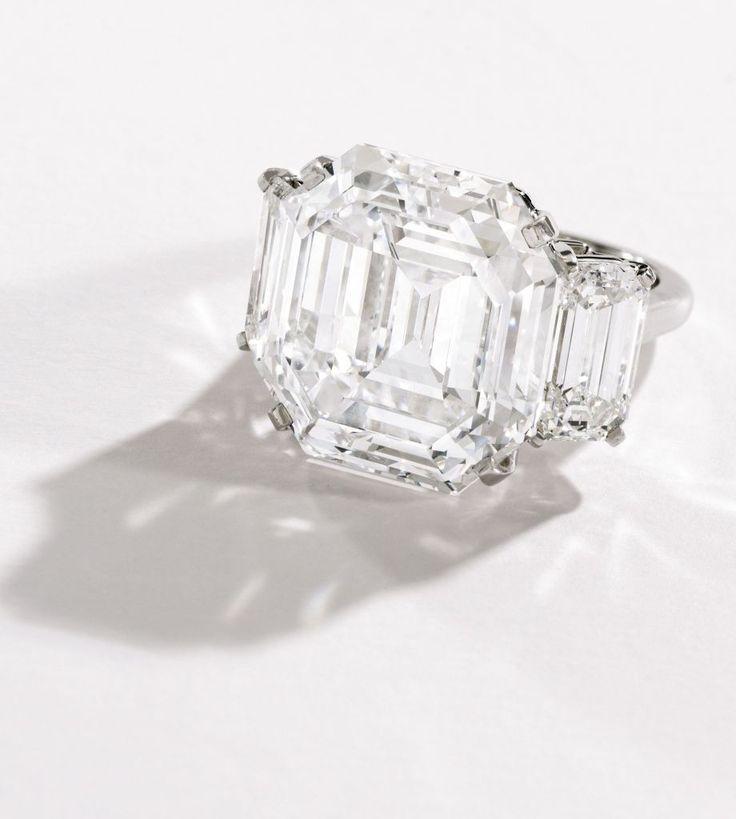 Insane 21 46 Ct Square Diamond Ringsemerald