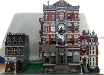 99 best Lego Modular Buildings images on Pinterest