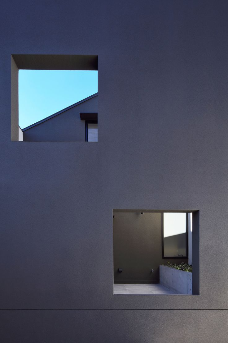 A multi-layered facade creates extra privacy for the residents of this Tokyo house designed by local firm Satoru Hirota Architects