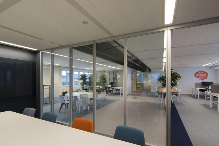 interieurontwerp door SVDK  interieurarchitecte(n) 2017 spreekkamer in flexplekken kantoor