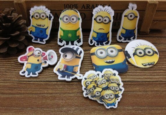 Despicable ME Minion Badge- Various design Badge for you from Picsity.com