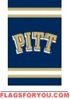 """Pittsburgh Panthers Applique Banner Flag 44"""" x 28"""""""