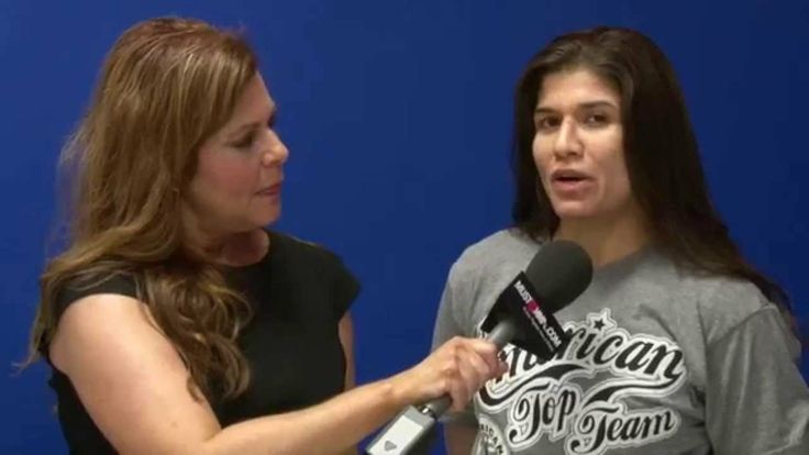 MMA fighter Jessica Aguilar on her WSOF 10 fight with Emi Fujino and bei...